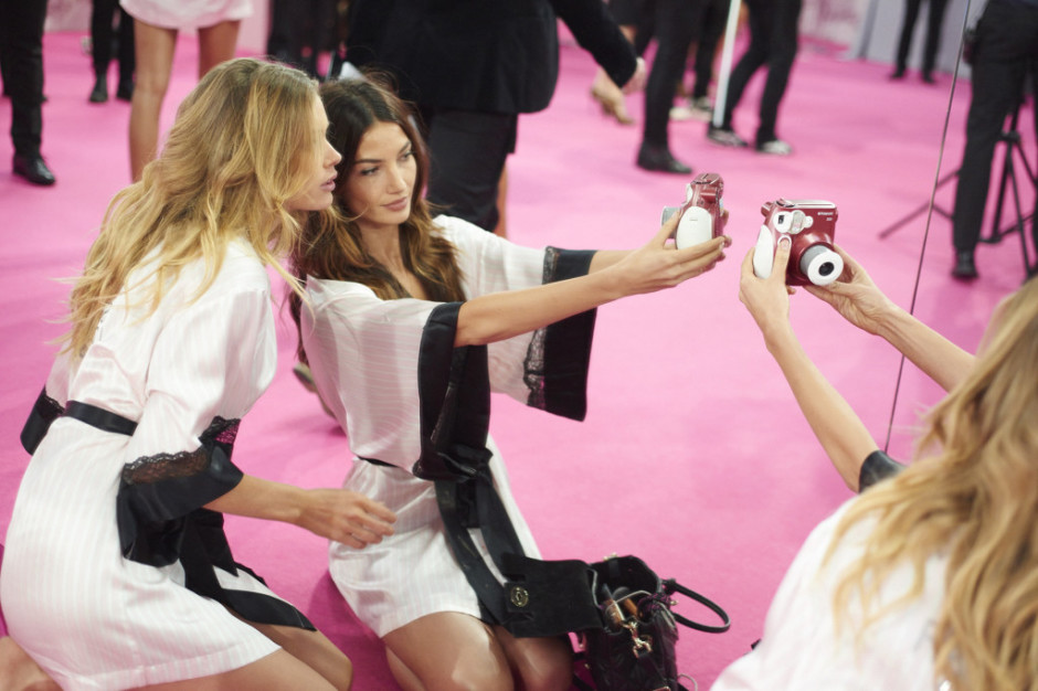 Backstage With Victoria's Secret