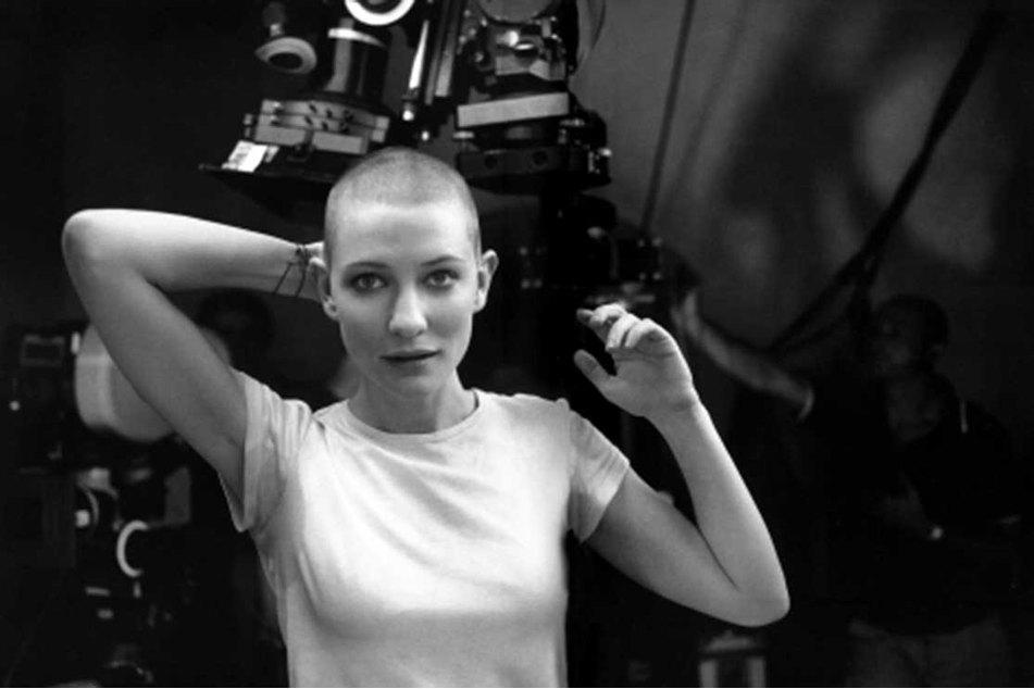 Cate Blanchett bald