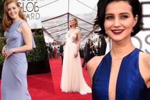 72nd Golden Globes Red Carpet Fashion