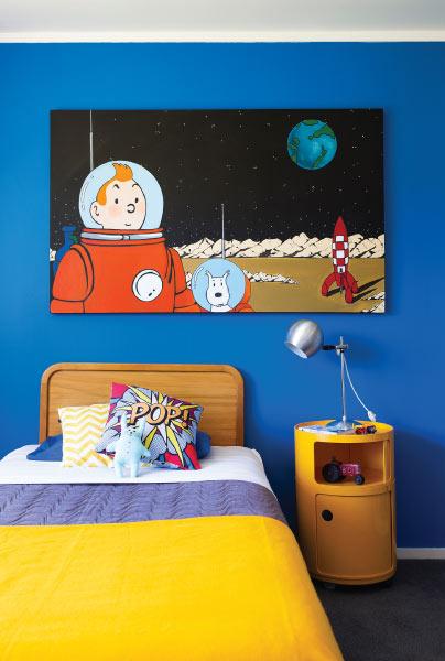 Tintin-room