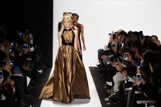 Carmen Marc Valvo Runway Mercedes Benz Fashion Week Fall 2015 M2now Header wide shot