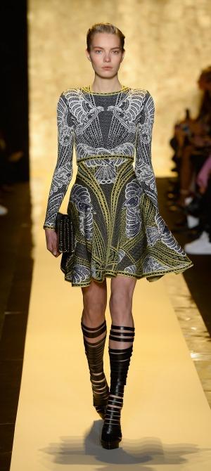 Herve Leger By Max Azria - Runway - Mercedes-Benz Fashion Week Fall 2015 (2)