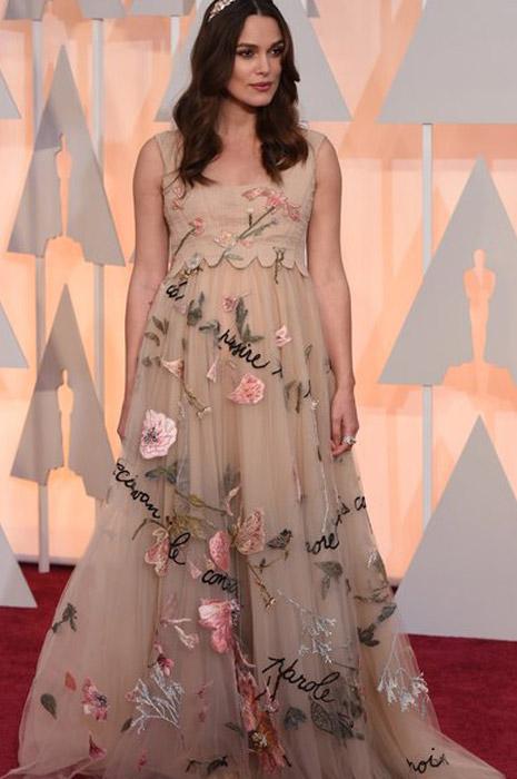 Keira Knightley wearing Valentino