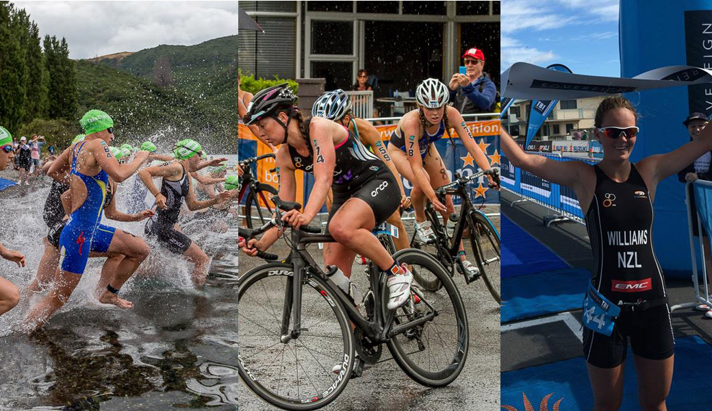 Tri-Series Wanaka women New Zealand
