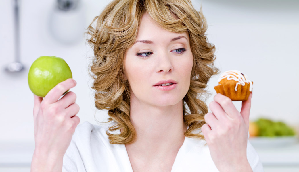 Woman Apple Cake selection process