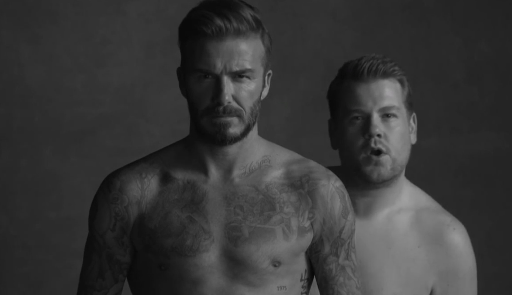 Beckham James Cordon Late Late show