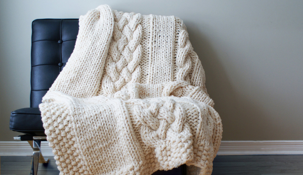 Cable-Knit-Blankets