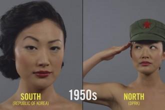 North-Korea-vs-South-Korea-100-years-of-Beauty