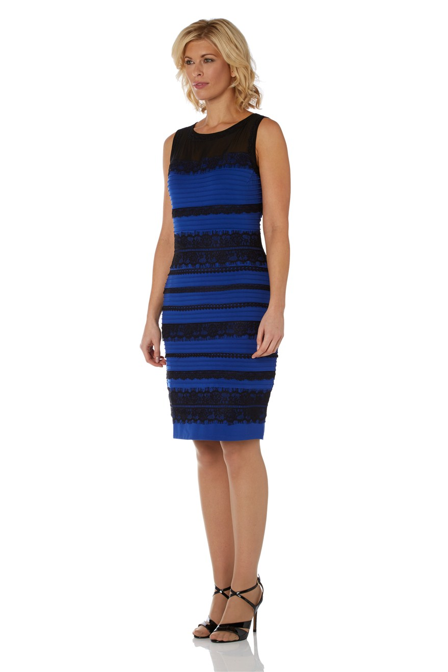 Thedress twitter blue and black real girl (1)