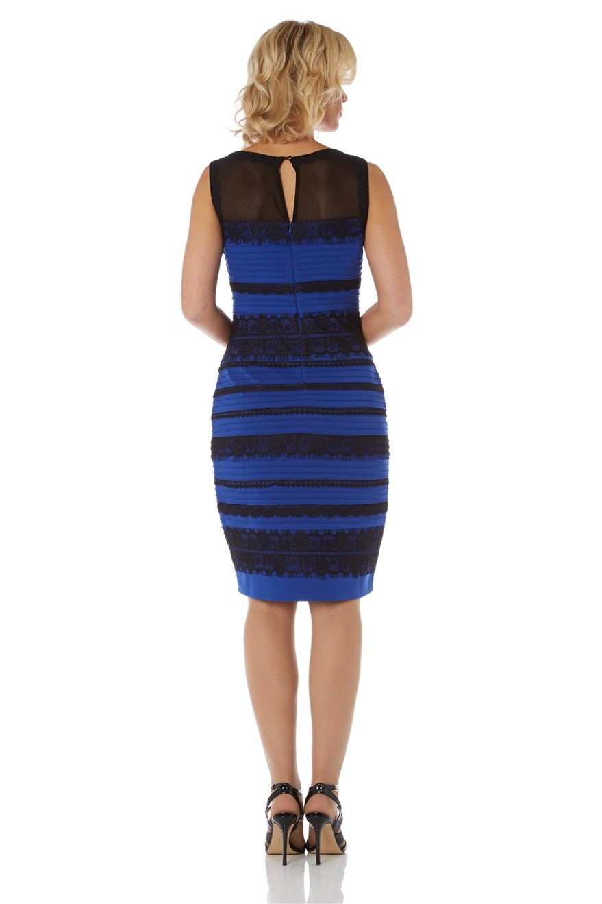 Thedress twitter blue and black real girl (3)