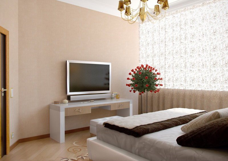 original-modern-bedroom-with-tv-the-modern-style-bedroom-with-the-big-red-roses-bucket-standing-near