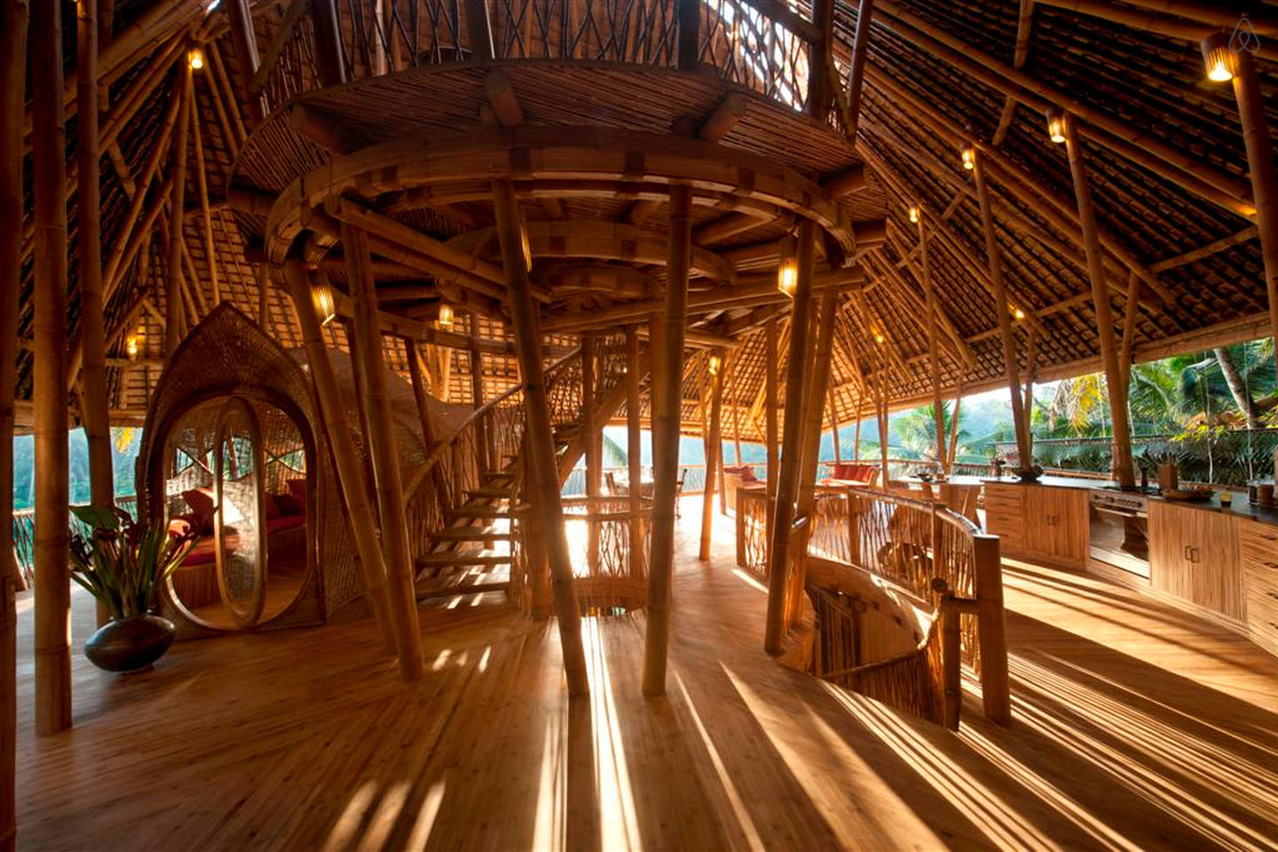 All Bamboo House in Bali, Indonesia (1)