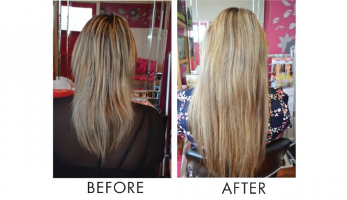 Hair-Extensions-Before-after