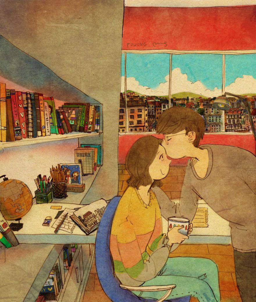 sweet-couple-love-illustrations-art-puuung-17__880