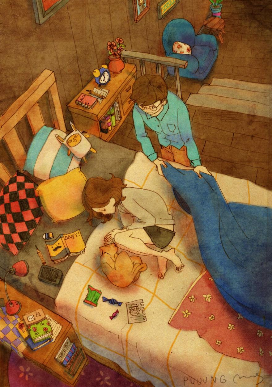 sweet-couple-love-illustrations-art-puuung-30__880