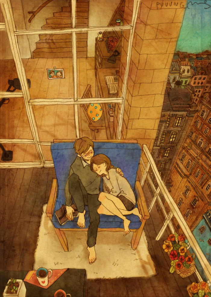 sweet-couple-love-illustrations-art-puuung-40__700