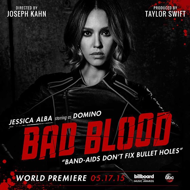 Jessica Alba Taylor Swift Bad Blood