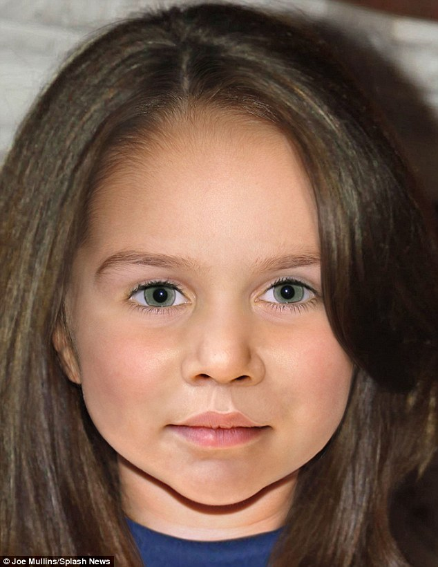 Princess Charlotte how she'll look
