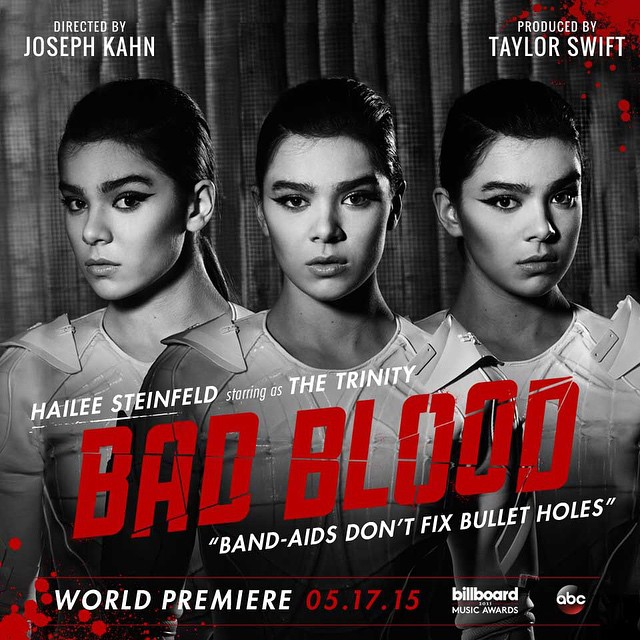 Taylor Swift Bad Blood hailee steinfeld