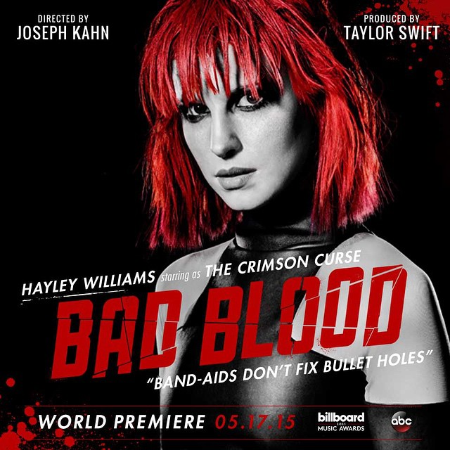 Taylor Swift Bad Blood hayley williams