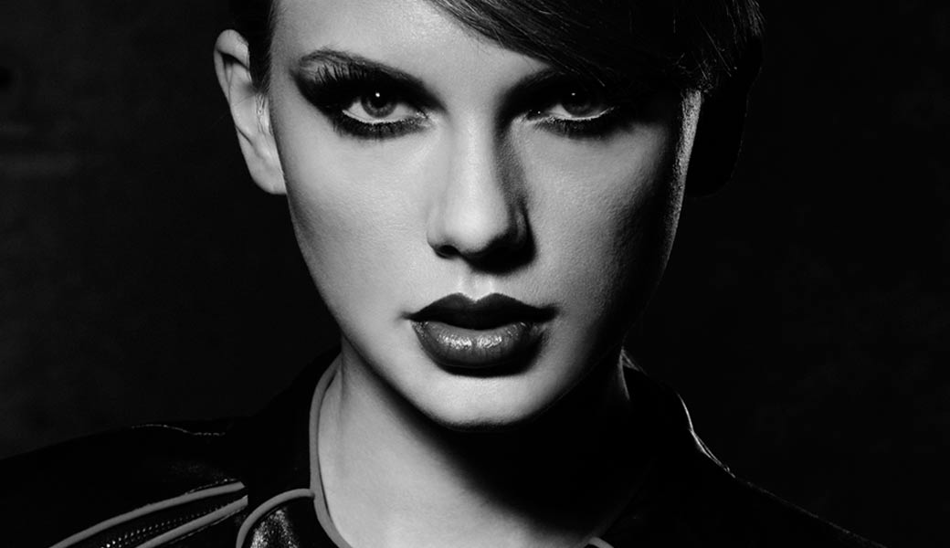 Taylor-Swift-Bad-blood-black-and-white-sexy