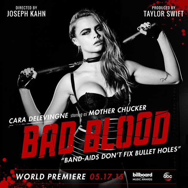 cara delevingne Taylor Swift Bad Blood