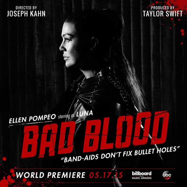 ellen pompeo Taylor Swift Bad Blood