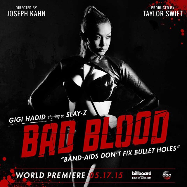 gigi hadid Taylor Swift Bad Blood