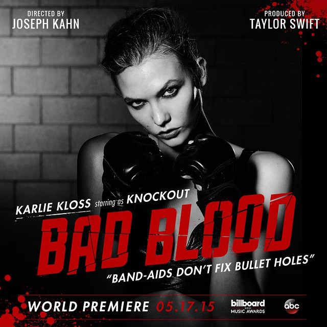 karlie Kloss Taylor Swift Bad Blood