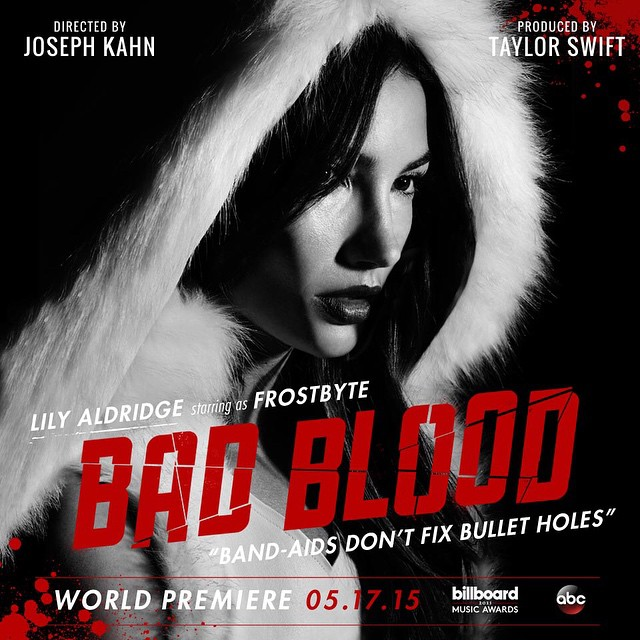 lily aldridge Taylor Swift Bad Blood