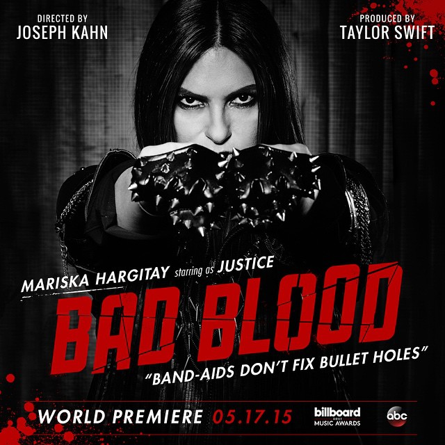 mariska hargitay Taylor Swift Bad Blood