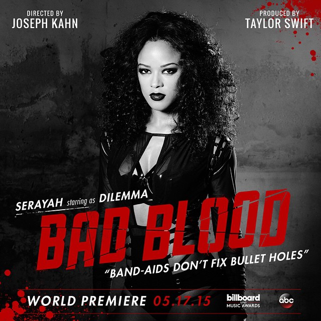 serayah Taylor Swift Bad Blood
