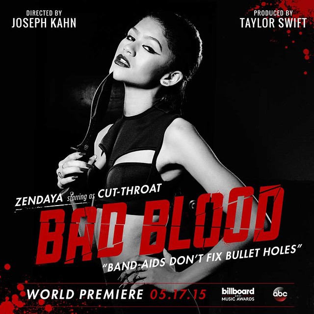 zendaya Taylor Swift Bad Blood