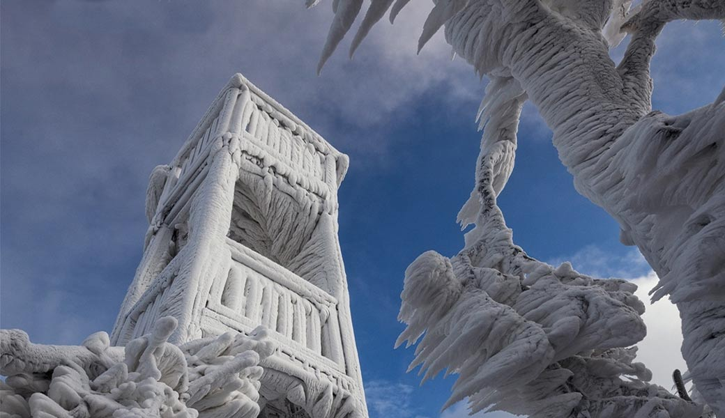 Ice-Sculptour