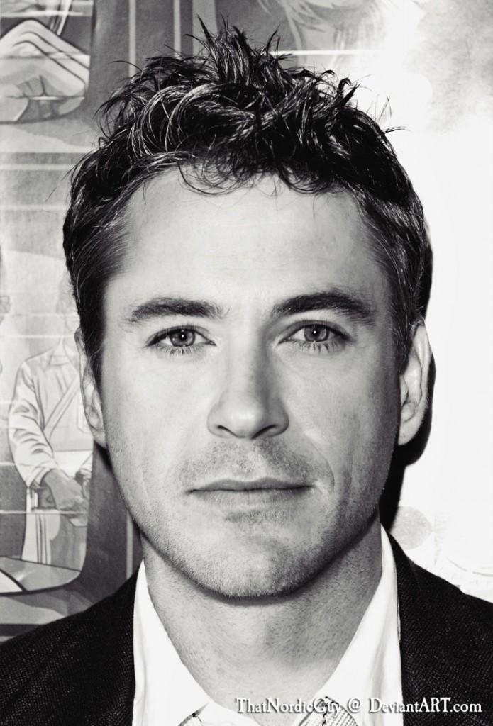 Robert Downey Jr. Chris Hemsworth