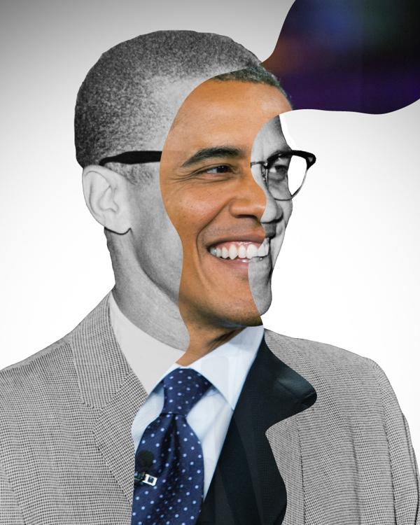Obama Malcom X