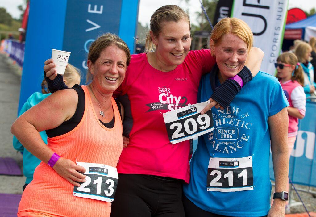 STS Chch - First Timer Women Finish 2