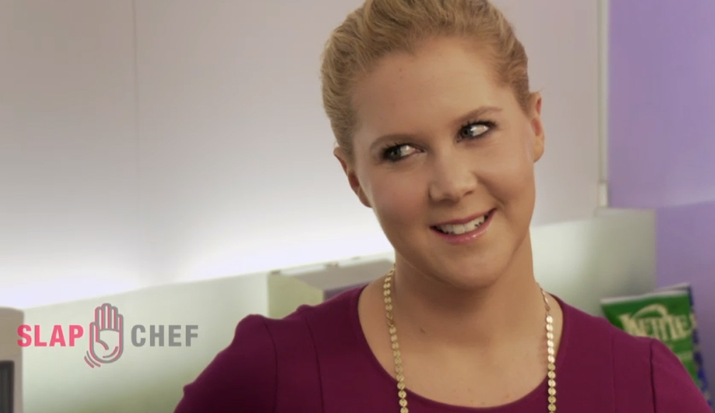 amy schumer slap chef