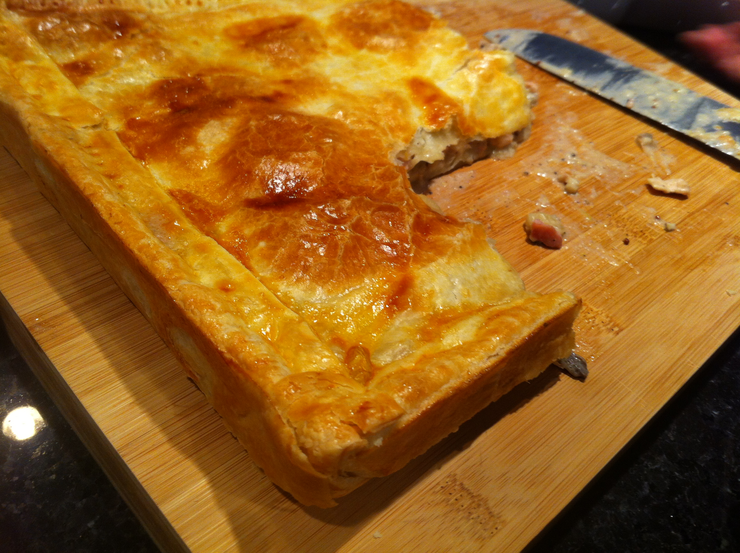 Quick & Easy Chicken Pie - M2woman2.JPG
