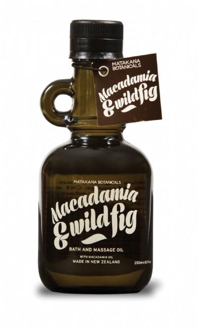 Macadamia & Wild Fig Bath and Massage Oil $23.90