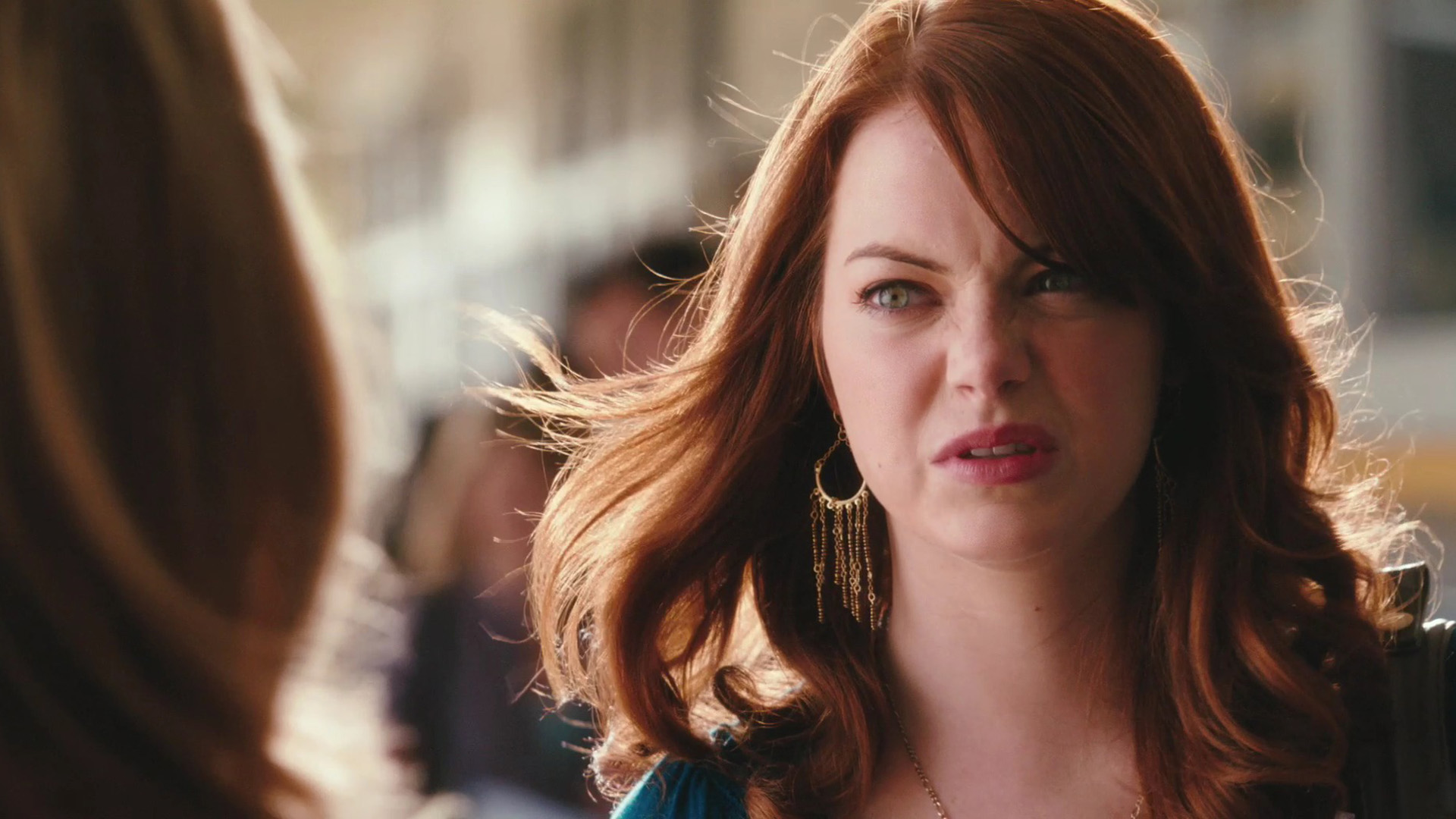 Emma Stone Grossed out moist