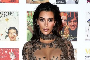 Kim Kardashian Took Naked Dress To A New Level At The Vogue 100 Festival
