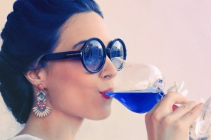 Forget Red and White, Blue is the New Colour Of Wine