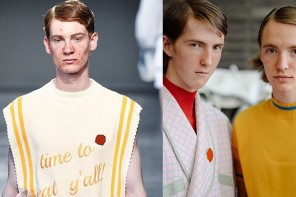 Fashionable acne – 'facne' is now a thing