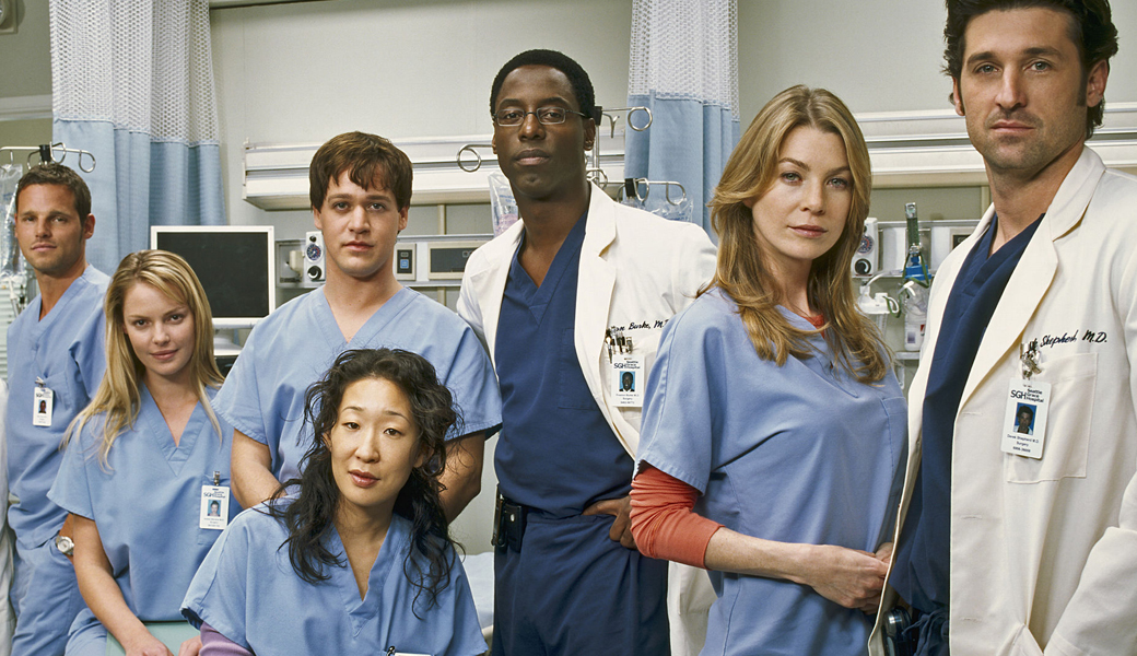 Grey s anatomy cast