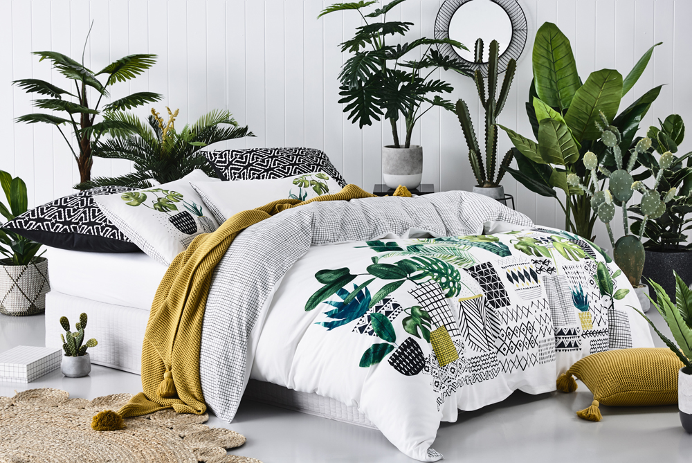 Home Republic Greenhouse Quilt Cover Set