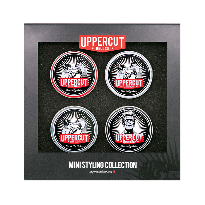 Uppercut Deluxe Mini Tins Styling Collection, RRP $30