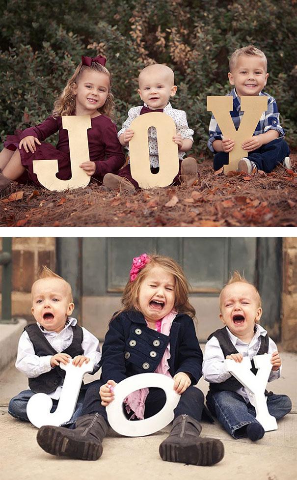 cute baby photos vs reality (13)