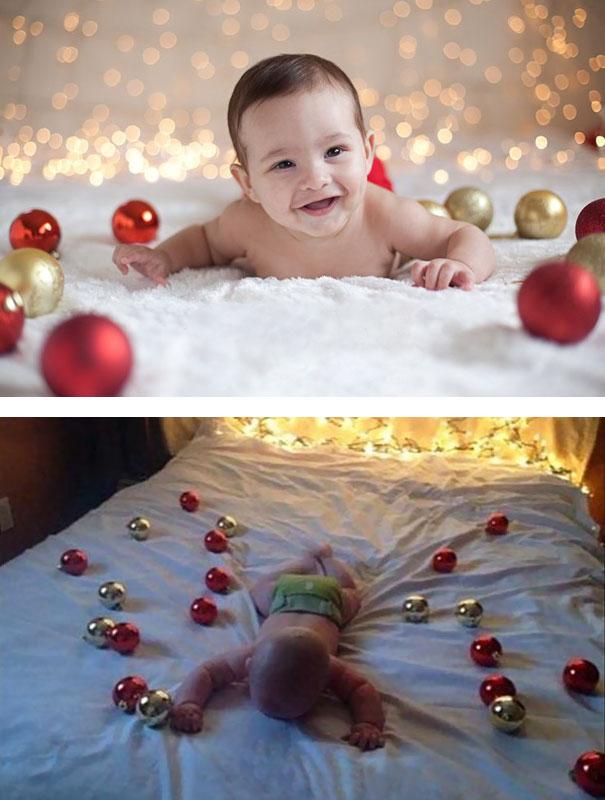 cute baby photos vs reality (2)
