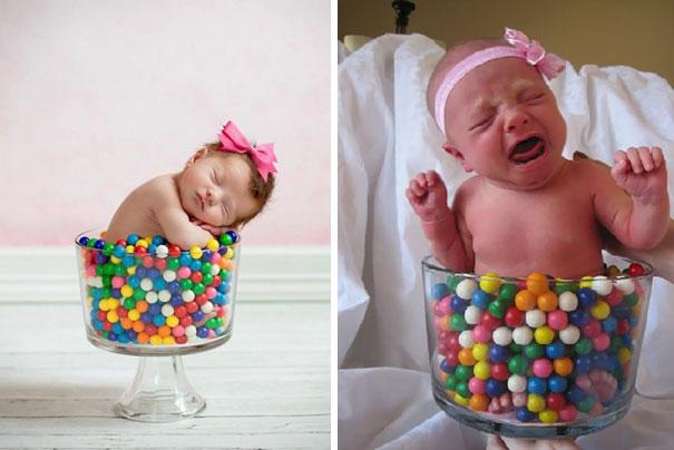 cute baby photos vs reality (5)